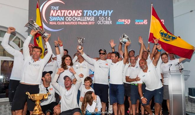 Spain claimed The Nations Trophy ©  Studio Borlenghi