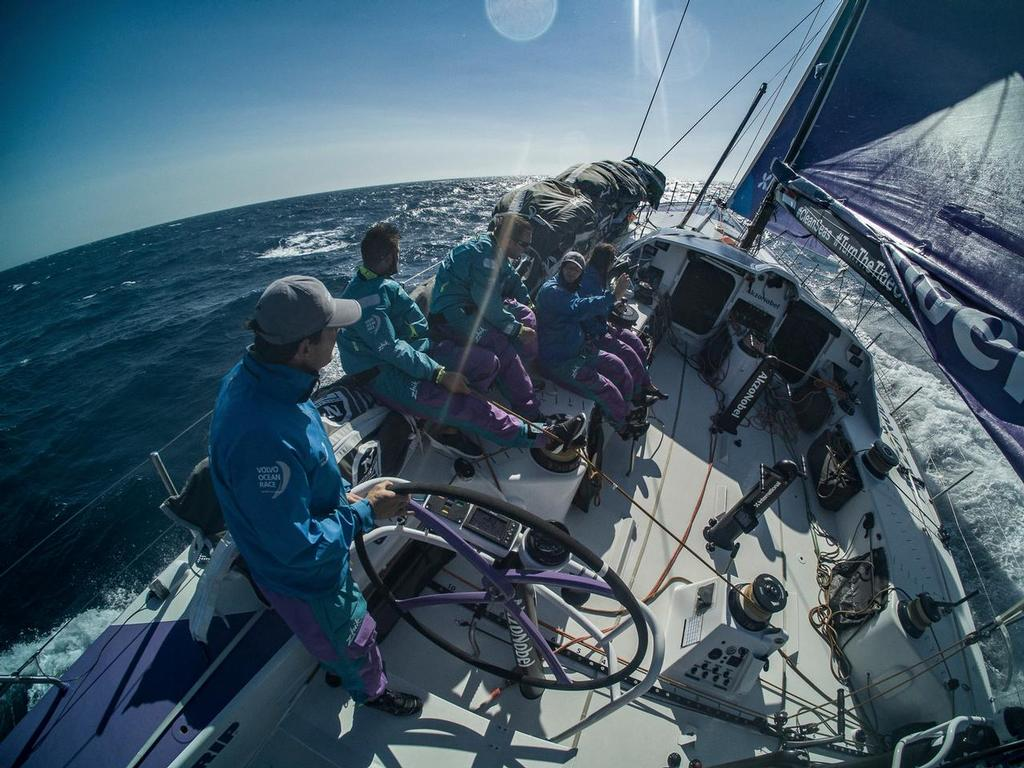 Prologue on-board AkzoNobel. Volvo Ocean Race. 10 October, 2017 ©  James Blake / Volvo Ocean Race