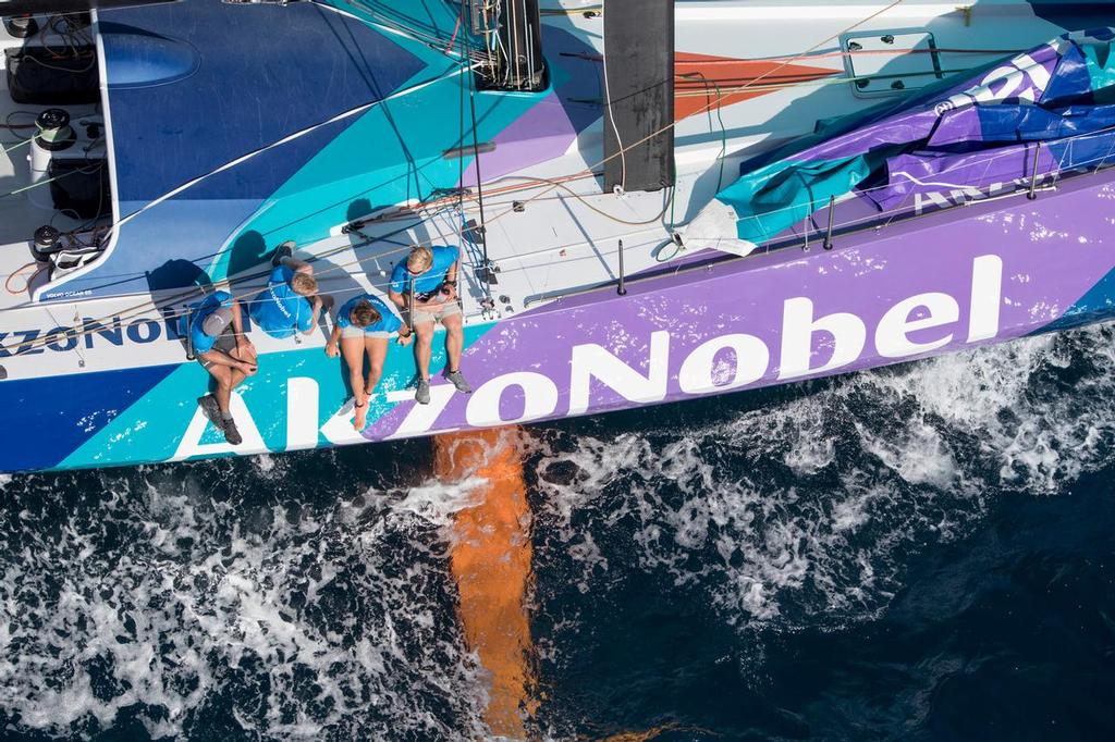 Alicante stopover. Practice race. Photo by Ainhoa Sanchez/Volvo Ocean Race. 13 October, 2017 ©  Ainhoa Sanchez/Volvo Ocean Race