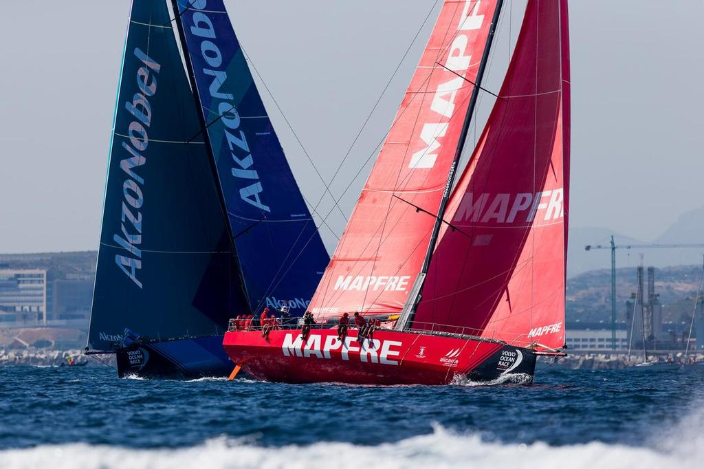 Alicante stopover. MAPFRE In-Port Race Alicante. Photo by Pedro Martinez/Volvo Ocean Race. 14 October, 2017. ©  Pedro Martinez / Volvo Ocean Race