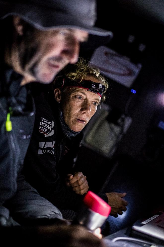Leg 2, Lisbon to Cape Town, on board Sun Hung Kai/Scallywag – Volvo Ocean Race ©  Konrad Frost / Volvo Ocean Race