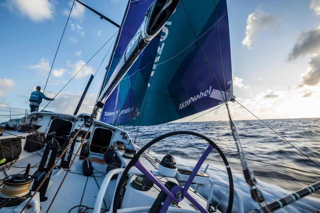Leg 02, Lisbon to Cape Town, Day 04,  on board AkzoNobel. Photo by James Blake/Volvo Ocean Race. 08 November, 2017. ©  James Blake / Volvo Ocean Race