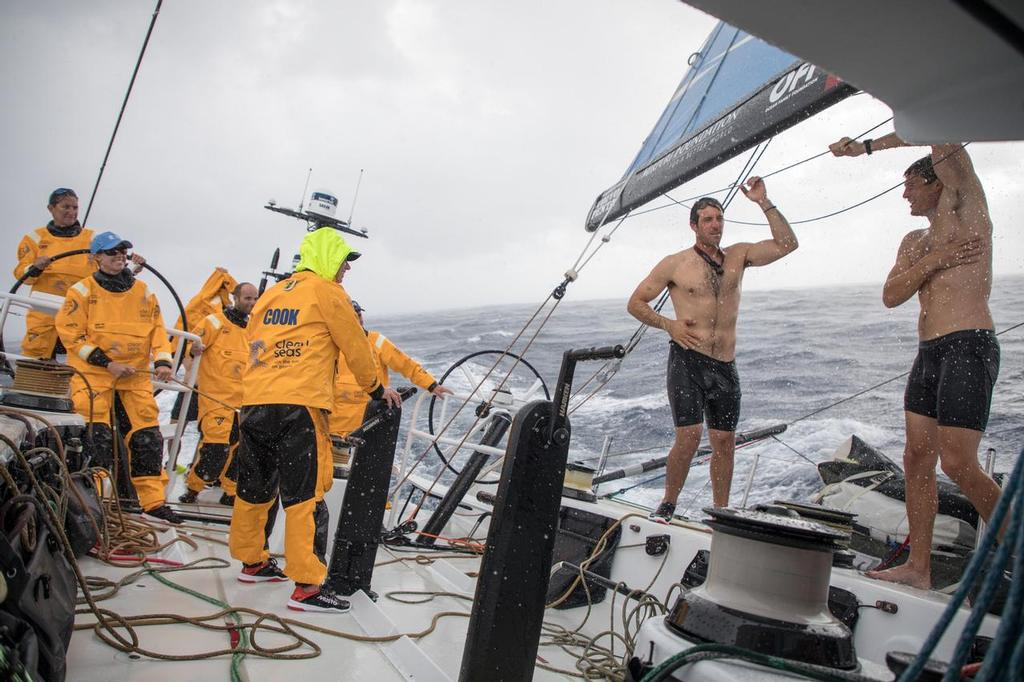 Leg 02, Lisbon to Cape Town, day 04,  On board Turn the Tide on Plastic. Volvo Ocean Race. 09 November, 2017 ©  Sam Greenfield / Volvo Ocean Race