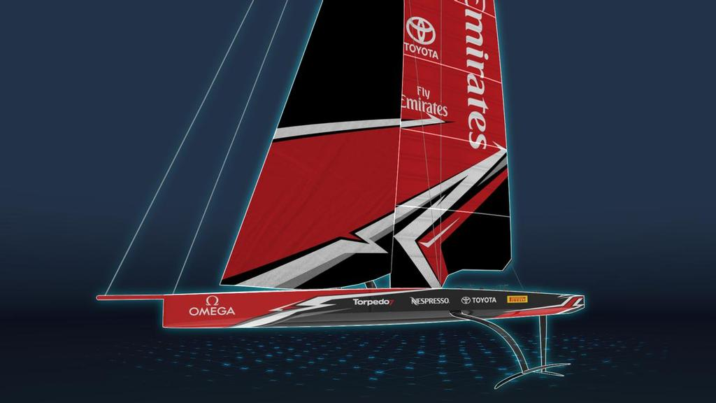 America's Cup AC75 - Class concept announcement - November 21, 2017 - photo © Emirates Team New Zealand http://www.etnzblog.com