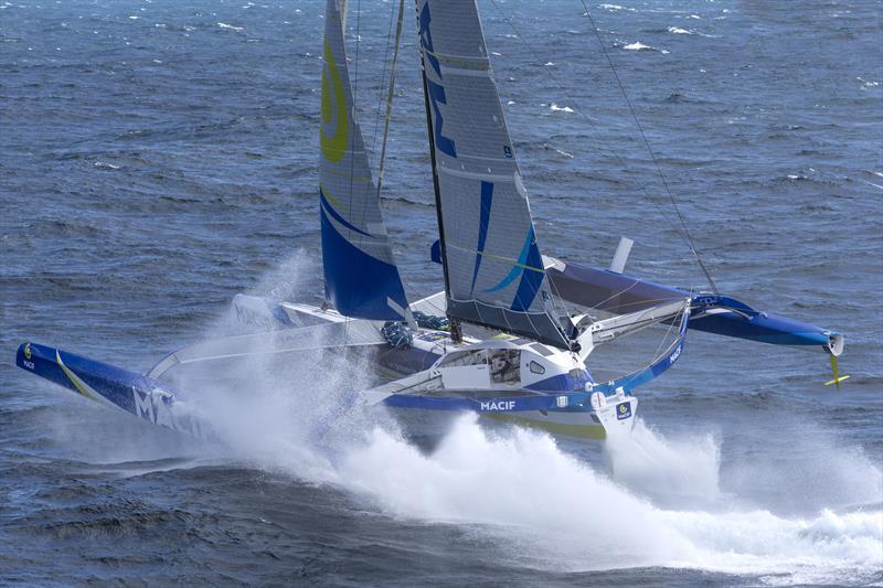 François Gabart on board the MACIF trimaran - photo © Jean-Marie Liot / ALeA / Macif