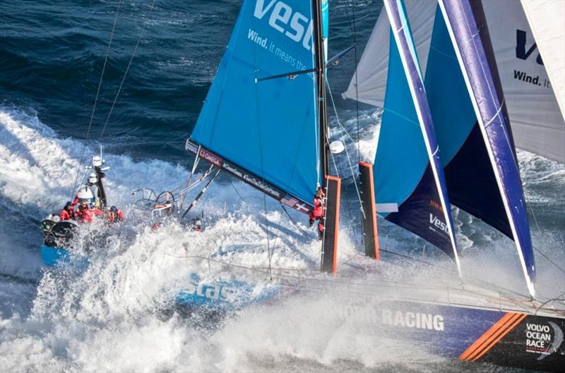 Vestas 11th Hour Racing - 2016/17 Volvo Occean Race - photo © Ainhoa Sanchez / Volvo Ocean Race