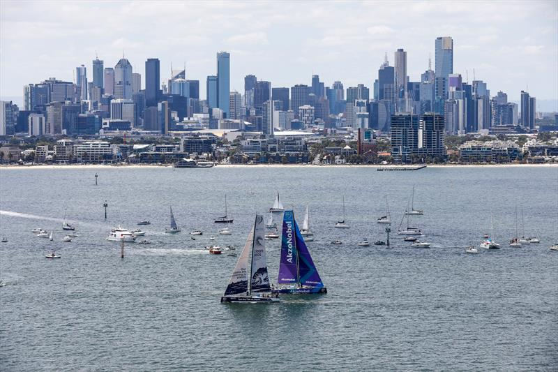 Leg 4, Melbourne to Hong Kong, start. - photo © Ainhoa Sanchez / Volvo Ocean Race