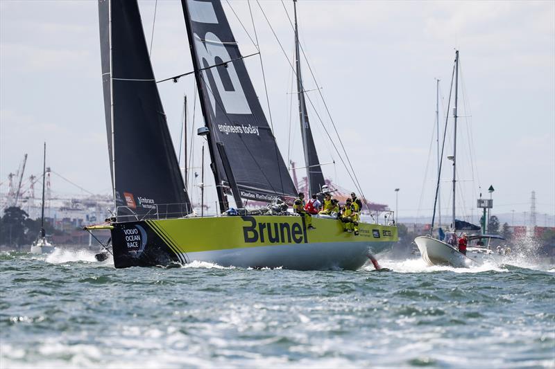 Leg 4, Melbourne to Hong Kong, start. - photo © Jesus Renedo / Volvo Ocean Race