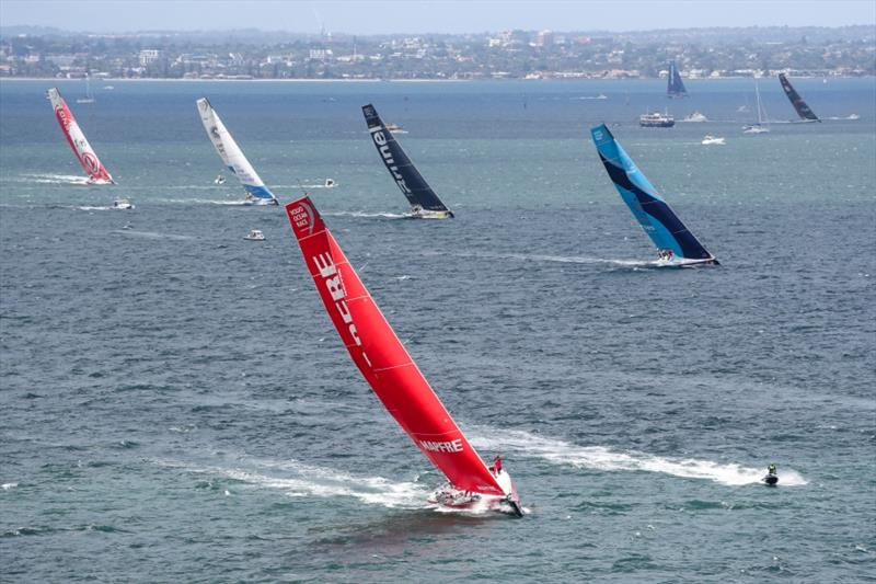 Volvo Ocean Race - Leg 4, Melbourne to Hong Kong, start - photo © Ainhoa Sanchez / Volvo Ocean Race