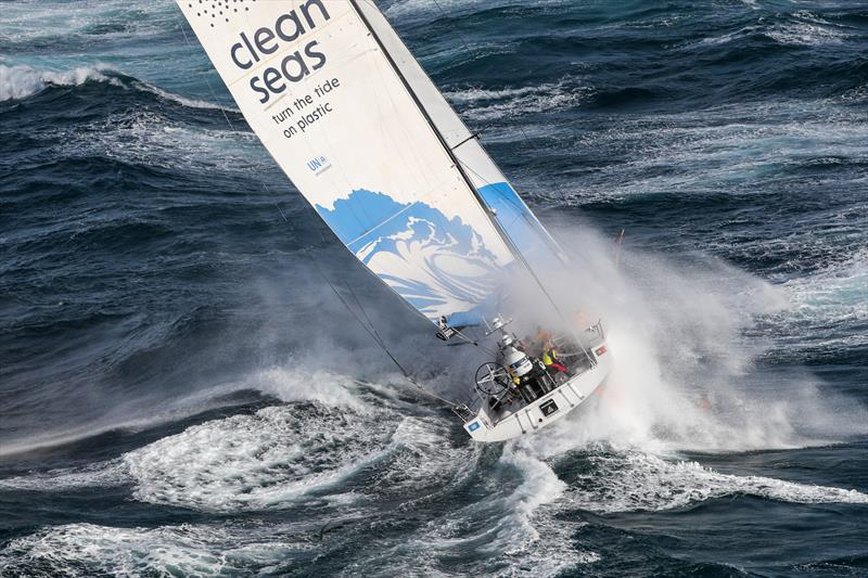 Turn  the Tide on Plastic, Leg 4, Melbourne to Hong Kong, start. - photo © Ainhoa Sanchez / Volvo Ocean Race