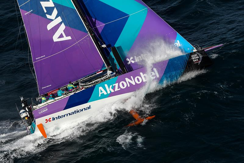 AkzoNobel, Leg 4, Melbourne to Hong Kong, start. - photo © Ainhoa Sanchez / Volvo Ocean Race