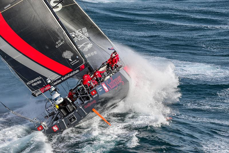 Scallywag, Leg 4, Melbourne to Hong Kong, start. - photo © Ainhoa Sanchez / Volvo Ocean Race