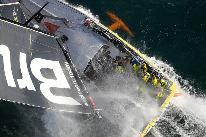 Brunel, Leg 4, Melbourne to Hong Kong, start. - photo © Ainhoa Sanchez / Volvo Ocean Race
