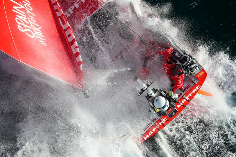 MAPFRE, Leg 4, Melbourne to Hong Kong, start. - photo © Ainhoa Sanchez / Volvo Ocean Race