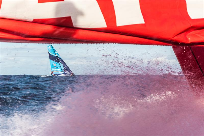 Leg 4, Melbourne to Hong Kong, day 01 on board MAPFRE, Leg start, batle with Vestas to lead the fleet. - photo © Ugo Fonolla / Volvo Ocean Race