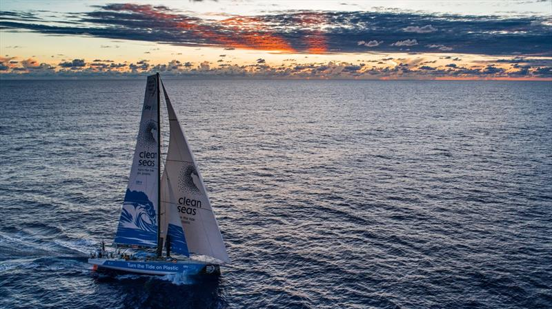 Leg 4, Melbourne to Hong Kong, Day 10 onboard Turn the Tide on Plastic. - photo © Brian Carlin / Volvo Ocean Race