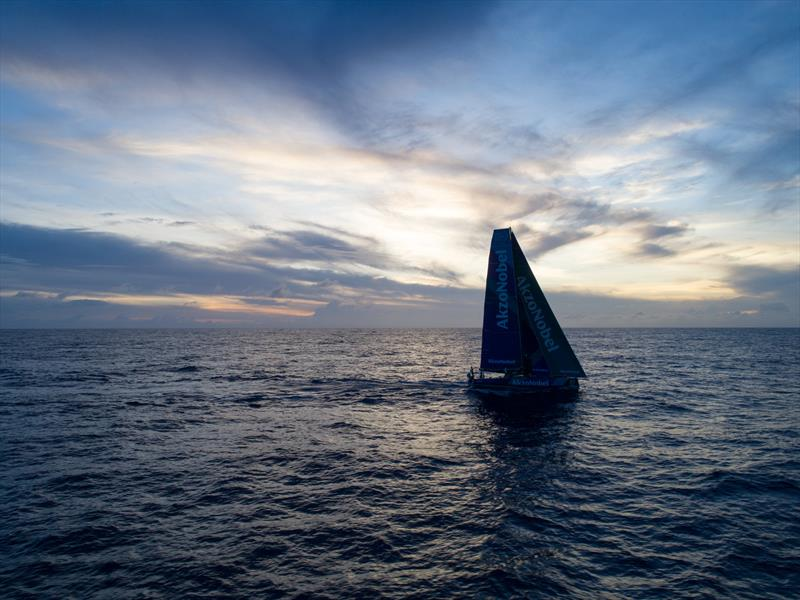 Leg 4, Melbourne to Hong Kong, day 12. Tensions ride as Dongfeng extends their lead by 4nm. - photo © Sam Greenfield / Volvo Ocean Race