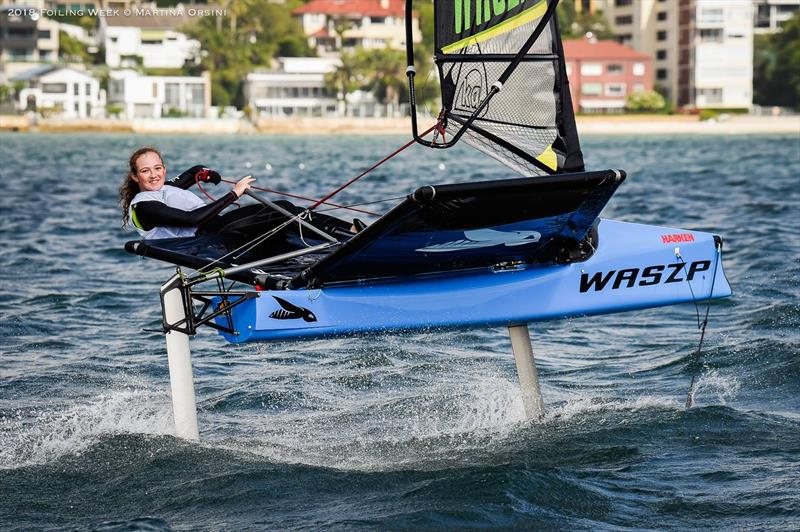 Happy times on the water for the Harken Kidz Trials as part of Foiling Week - photo © Martina Orsini
