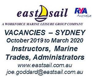 EastSail 2019 - Vacancies - 300x250