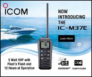 Icom AUS IC-M37E MPU 2019