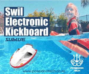 Poseidon Tech Kickboard 300x250