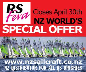 RS Feva WORLDS - NEWSLETTER - 300 x 250px