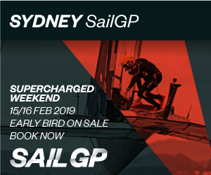 SailGP Sydney 2019 MPU 2 Supercharged Weekend