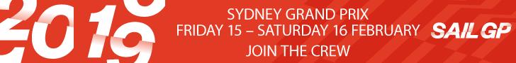 SailGP Sydney 2019 Leaderboard
