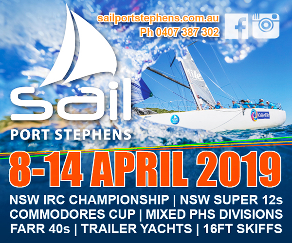Sail Port Stephens 2019 MPU