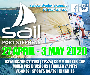 Sail Port Stephens 2020 - MPU