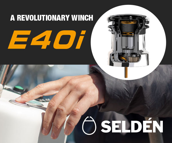Selden 2020 - E40i electric winch - MPU