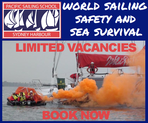 Pacific Sailing School 2019 - Safety and Survival Course - MPU