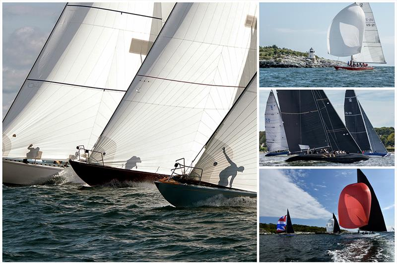 The 2019 12 Metre North American Championship was hosted by Ida Lewis Yacht Club in Newport, R.I., where the 2019 12 Metre World Championship is scheduled to take place. photo copyright Clockwise (L): George Bekris, Nancy Bloom, Stephen Cloutier, SallyAnne Santos taken at Ida Lewis Yacht Club and featuring the 12m class