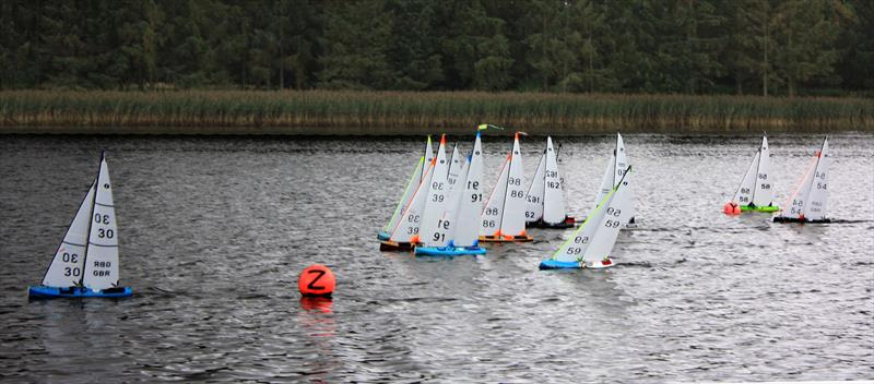 Scottish District IOM Travellers 3 at Tayside Radio Sailing Club