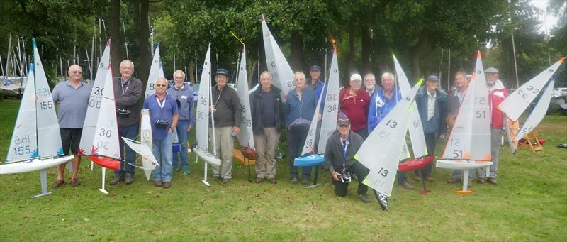 IOM Nick's Knots trophy at Frensham Pond Sailing Club Model Yacht Group