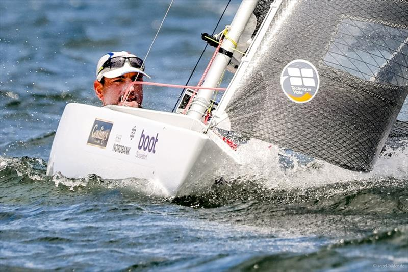 Kiel Week winner in 2.4mR class Damien Seguin - photo © Sascha Klahn / Kiel Week