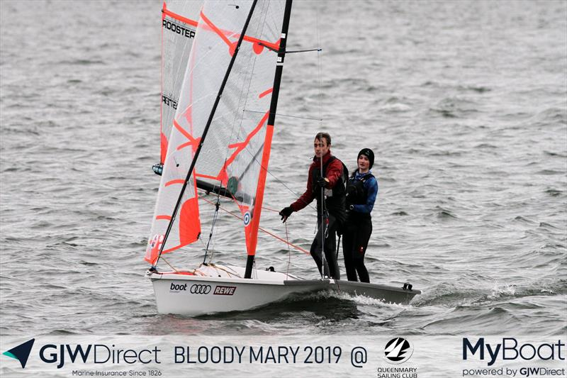 Monique Vennis-Ozanne & John Mather win the 2019 GJW Direct Bloody Mary - photo © Mark Jardine