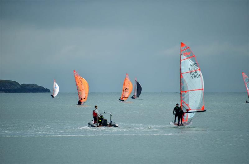 29er coached racing weekend at Pwllheli - photo © Will Willett & Paul Burke