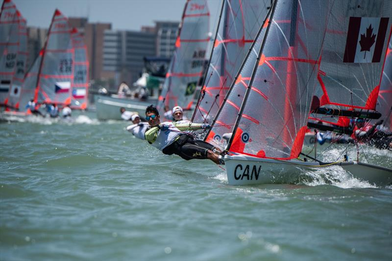 Youth World Sailing Championships, July 2018, Corpus Christi, Texas - photo © Jen Edney / World Sailing