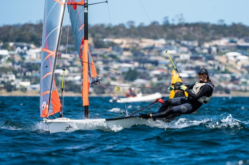 Alice Buchanan and Dervla Duggan, 29er class - Day 2, Australian Youth Championships 2019 - photo © Beau Outteridge