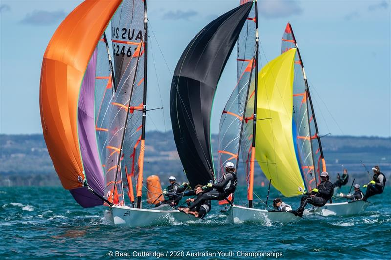 2020 Australian Youth Championships hosted by Sorrento Sailing Couta Boat Club (10-14 January). photo copyright Beau Outteridge taken at Sorrento Sailing Couta Boat Club and featuring the 29er class