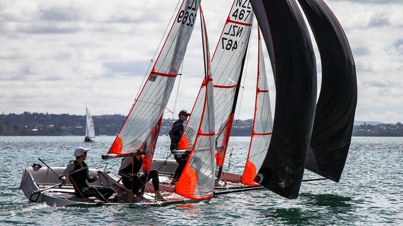 29ers - Oceanbridge NZL Sailing Regatta - Wakatere BC April 11, 2021 © Richard Gladwell / Sail-World.com / nz