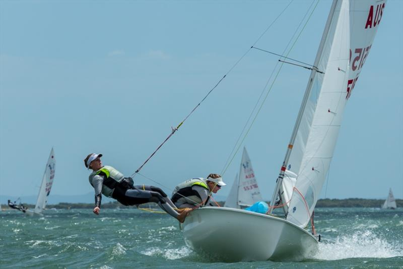 Matilda and Lily Richardson - 420 - photo © Australian Sailing