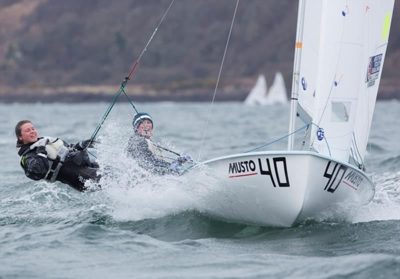 Vita Heathcote and Milly Boyle in action. - photo © Marc Turner / RYA