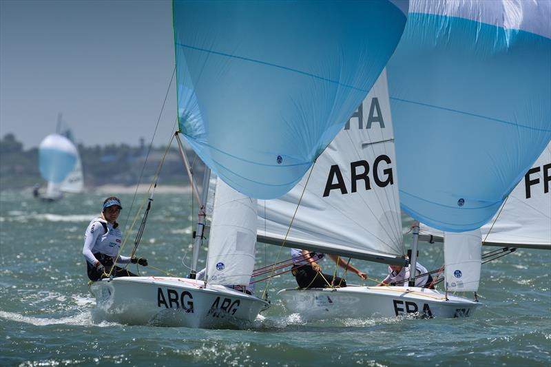 420 - Youth World Sailing Championships, July 2018, Corpus Christi, Texas - photo © James Tomlinson / / World Sailing