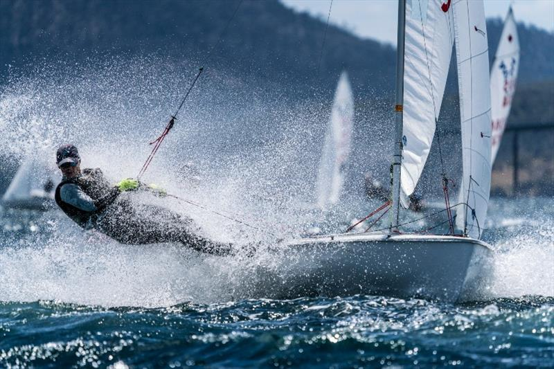 Finn Jones and Hamish Vass (420 Class, NSW) - Day 2, Australian Youth Championships 2019 - photo © Beau Outteridge