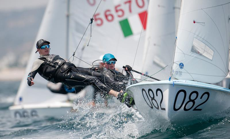 Mason Mulcahy/Andre Van Dam (NZL) move up the leaderboard on day 2 - 2019 420 World Championship - photo © Osga - João Ferreira