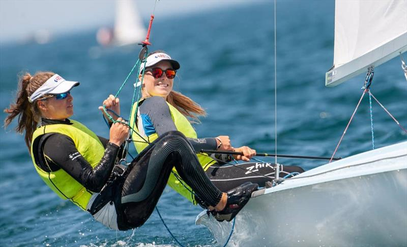 420 Women Gold to Vita Heathcote/Milly Boyle (GBR 55244) - 2019 420 World Championship - photo © Osga - João Ferreira
