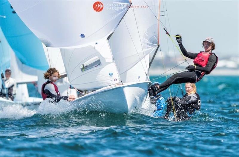 Alex Higgins and Joal MacKenzie 420 World Championships Perth - photo © Cristina Balcells