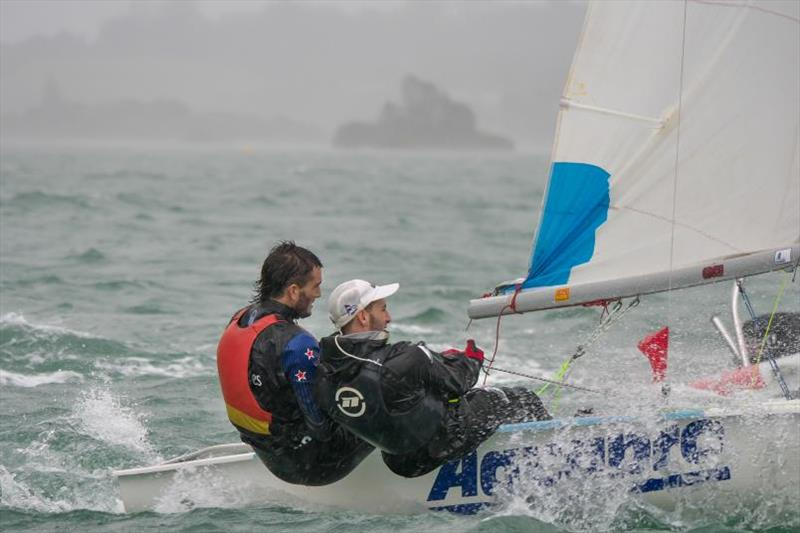 Blair Tuke sailed with his brother Jesse in an all-Kerikeri team - New Zealand Open Teams Racing National Championships - photo © Bruce Carter